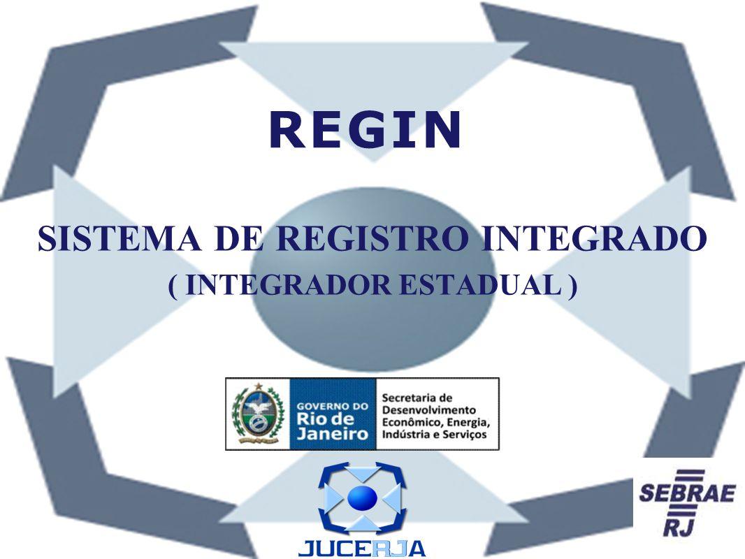 SISTEMA DE REGISTRO INTEGRADO ( INTEGRADOR ESTADUAL )