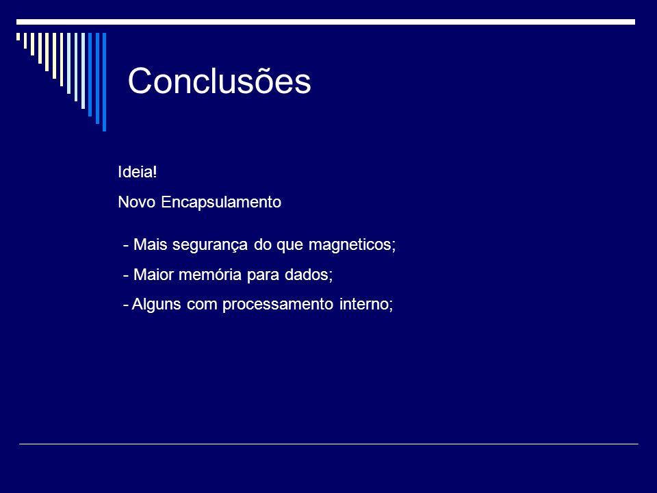 Conclusões Ideia! Novo Encapsulamento