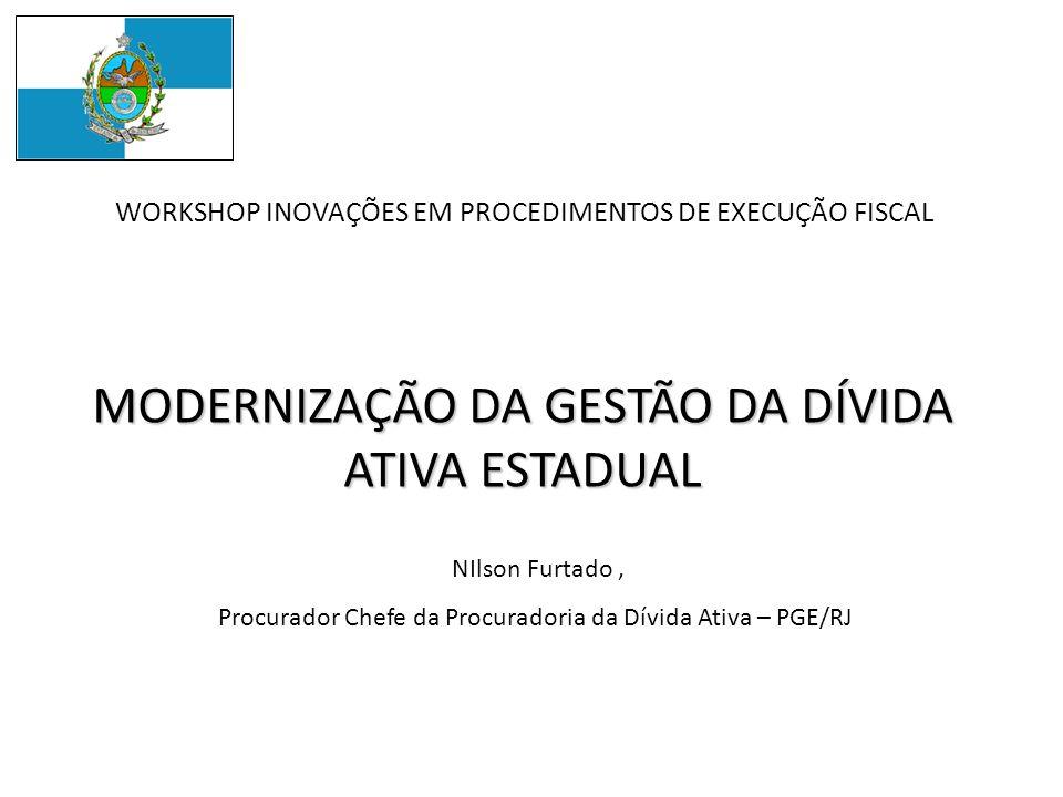 MODERNIZAÇÃO DA GESTÃO DA DÍVIDA ATIVA ESTADUAL