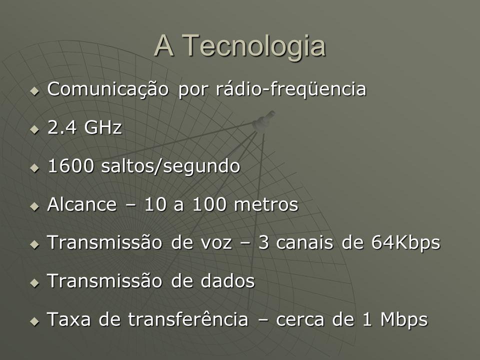 A Tecnologia Comunicação por rádio-freqüencia 2.4 GHz