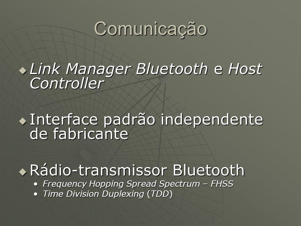 Comunicação Link Manager Bluetooth e Host Controller