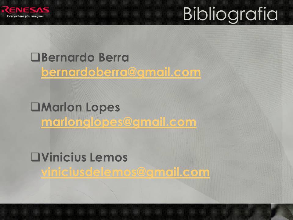 Bibliografia Bernardo Berra bernardoberra@gmail.com