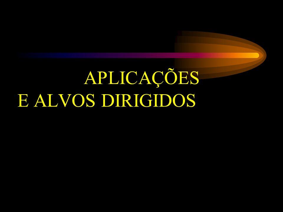 APLICAÇÕES E ALVOS DIRIGIDOS