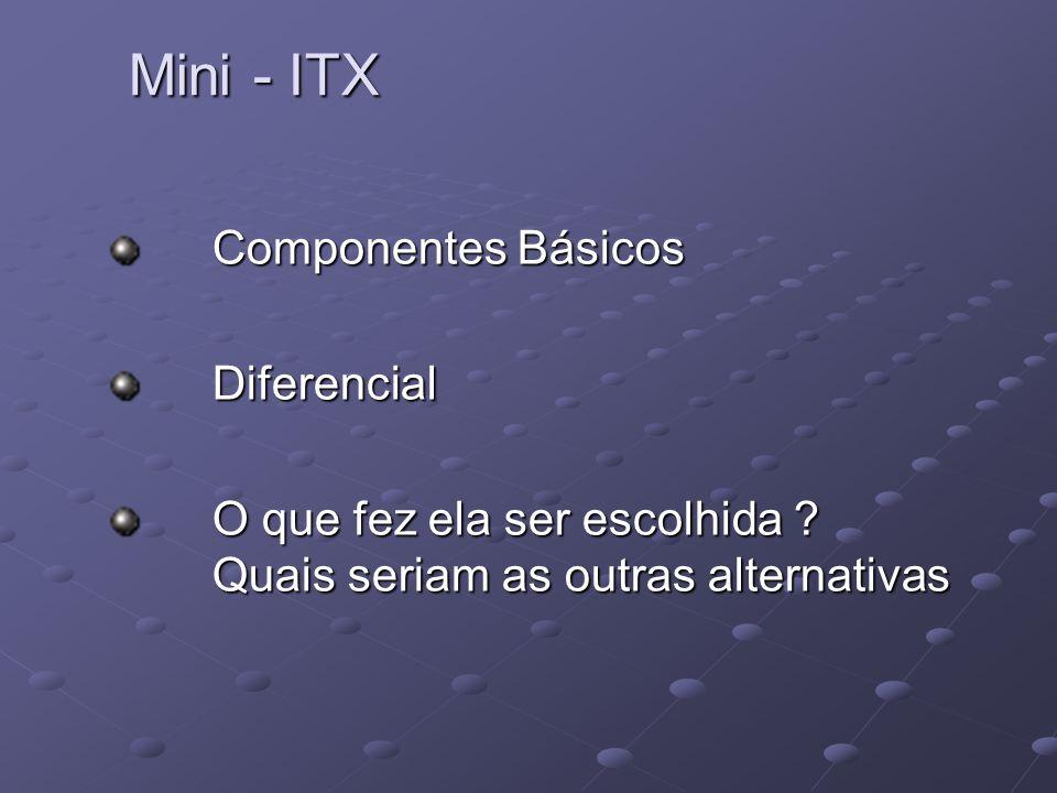 Mini - ITX Componentes Básicos Diferencial