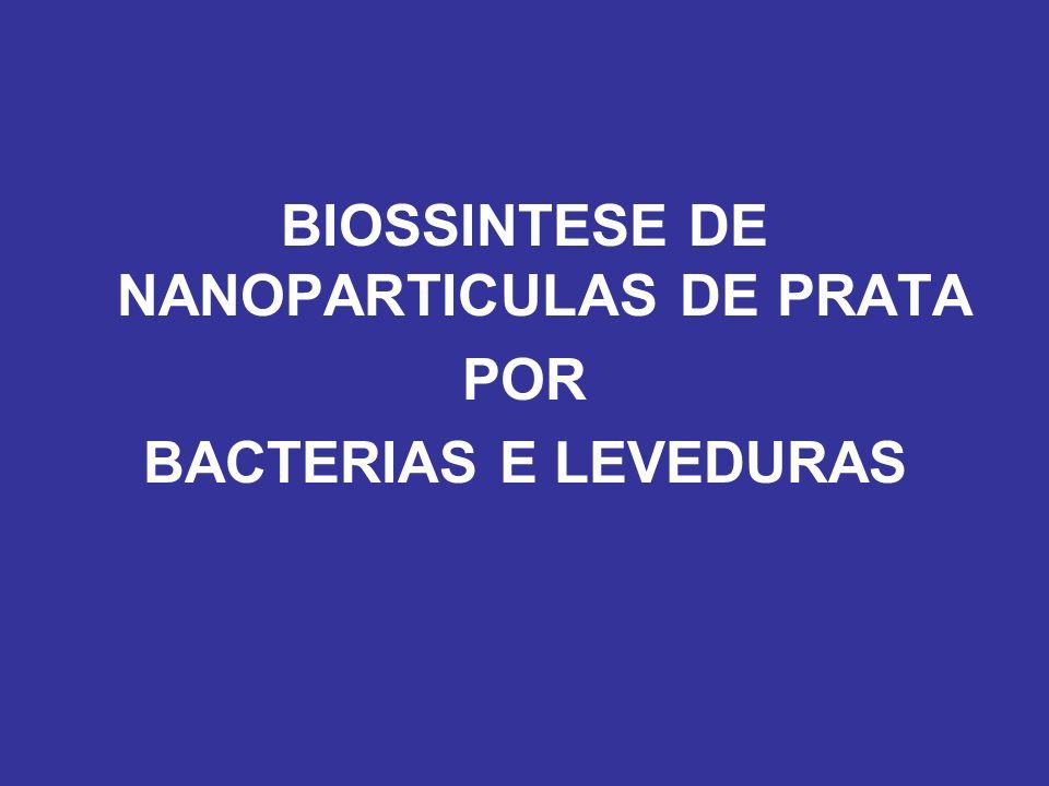 BIOSSINTESE DE NANOPARTICULAS DE PRATA