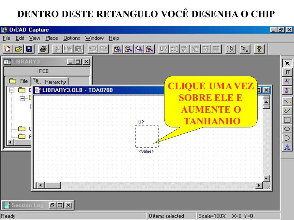 DENTRO DESTE RETANGULO VOCÊ DESENHA O CHIP