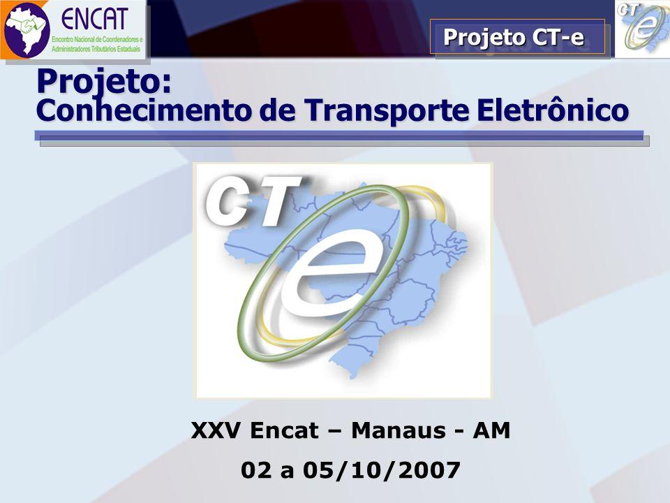 Projeto: Conhecimento de Transporte Eletrônico