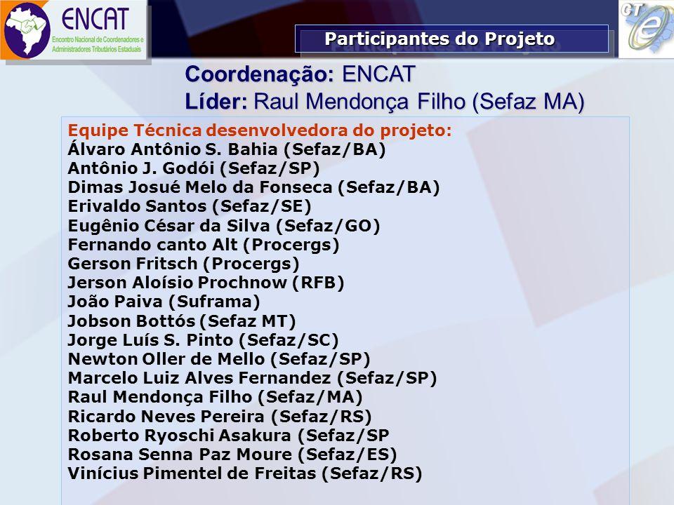 Líder: Raul Mendonça Filho (Sefaz MA)