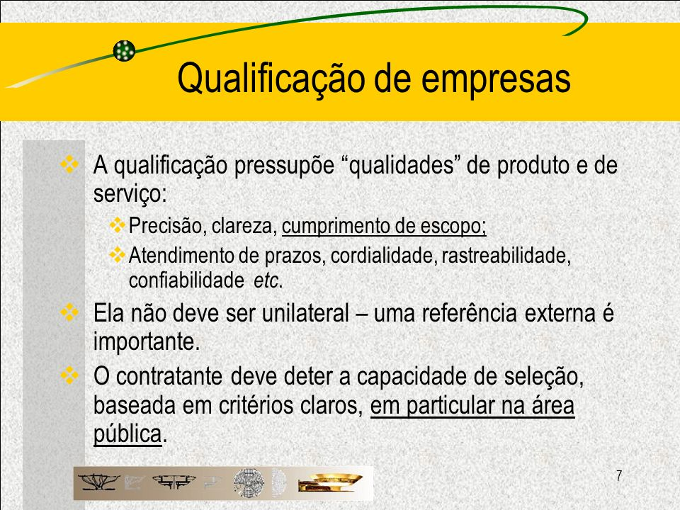 Qualificação de empresas