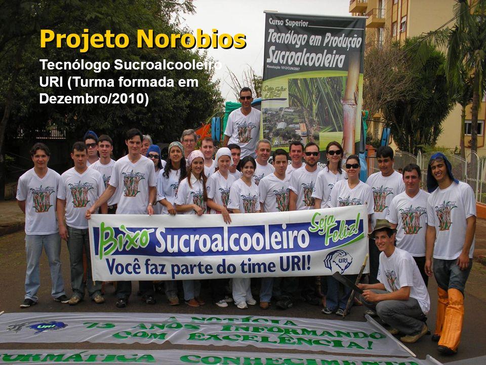 Projeto Norobios Tecnólogo Sucroalcooleiro URI (Turma formada em Dezembro/2010)