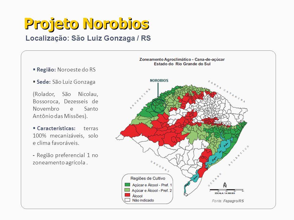 Projeto Norobios Localização: São Luiz Gonzaga / RS