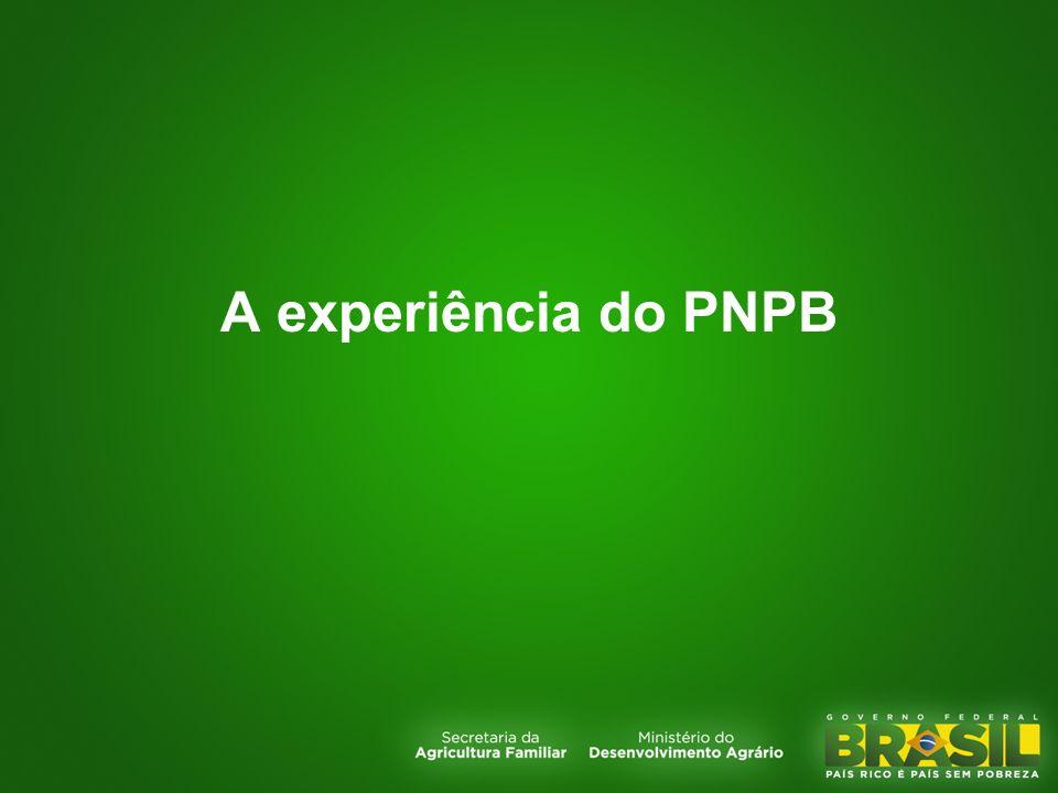 A experiência do PNPB