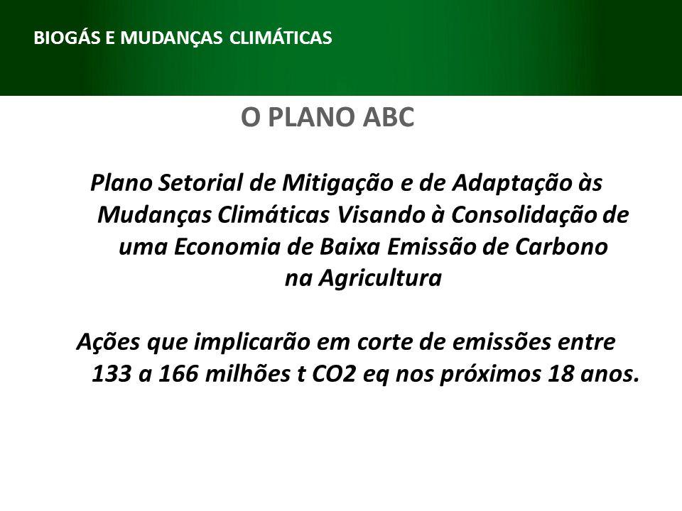 BIOGÁS E MUDANÇAS CLIMÁTICAS