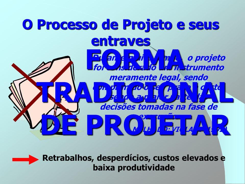 FORMA TRADICIONAL DE PROJETAR