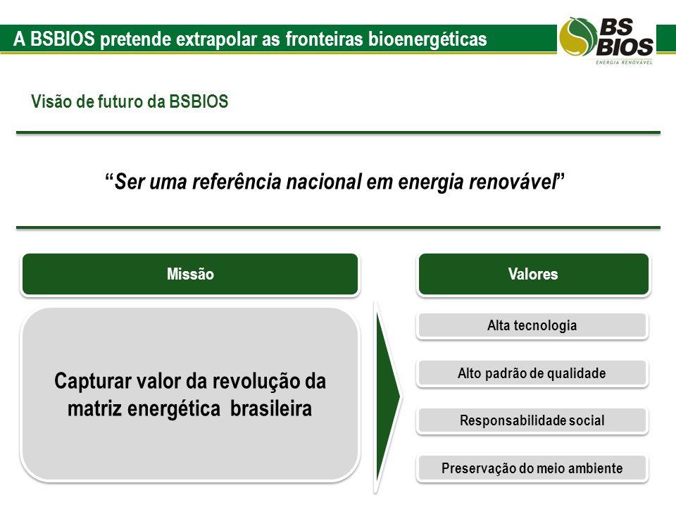 A BSBIOS pretende extrapolar as fronteiras bioenergéticas