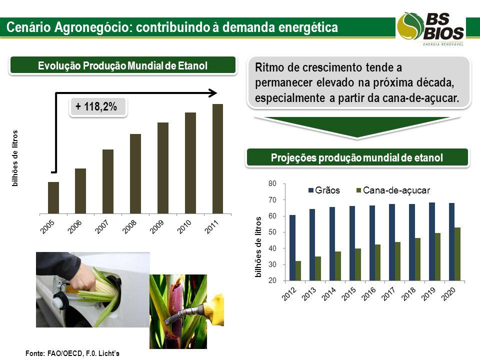 Cenário Agronegócio: contribuindo à demanda energética