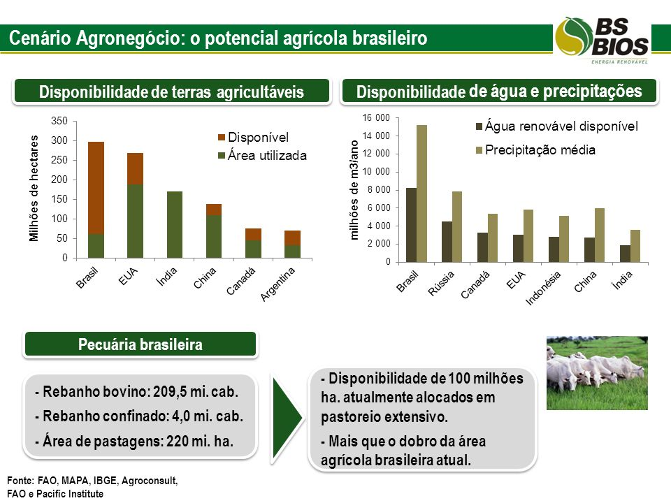 Cenário Agronegócio: o potencial agrícola brasileiro