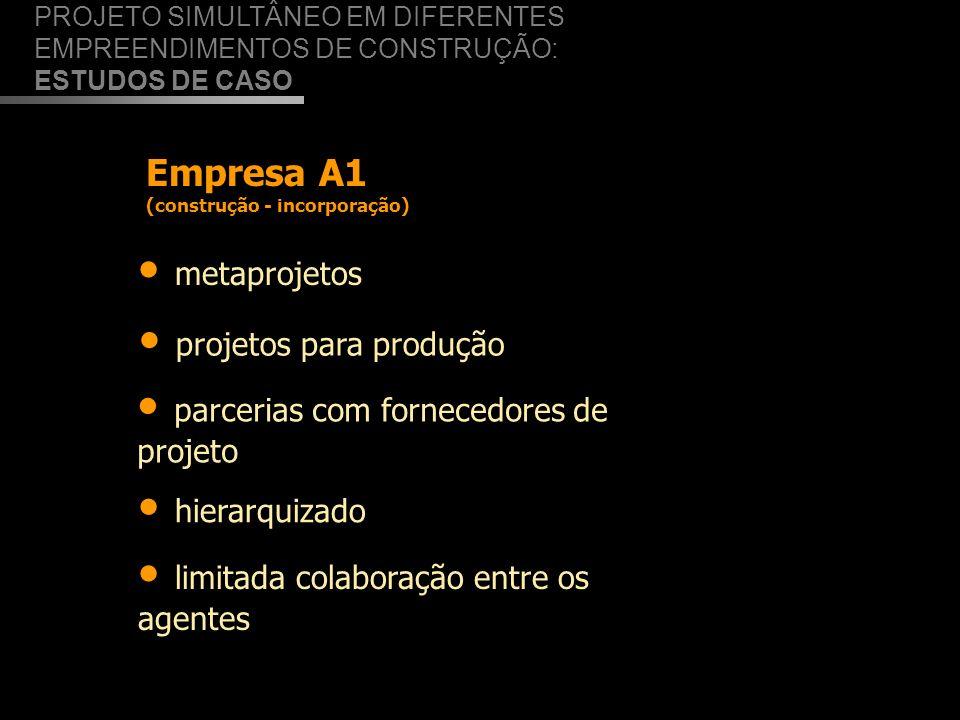 projetos para produção parcerias com fornecedores de projeto