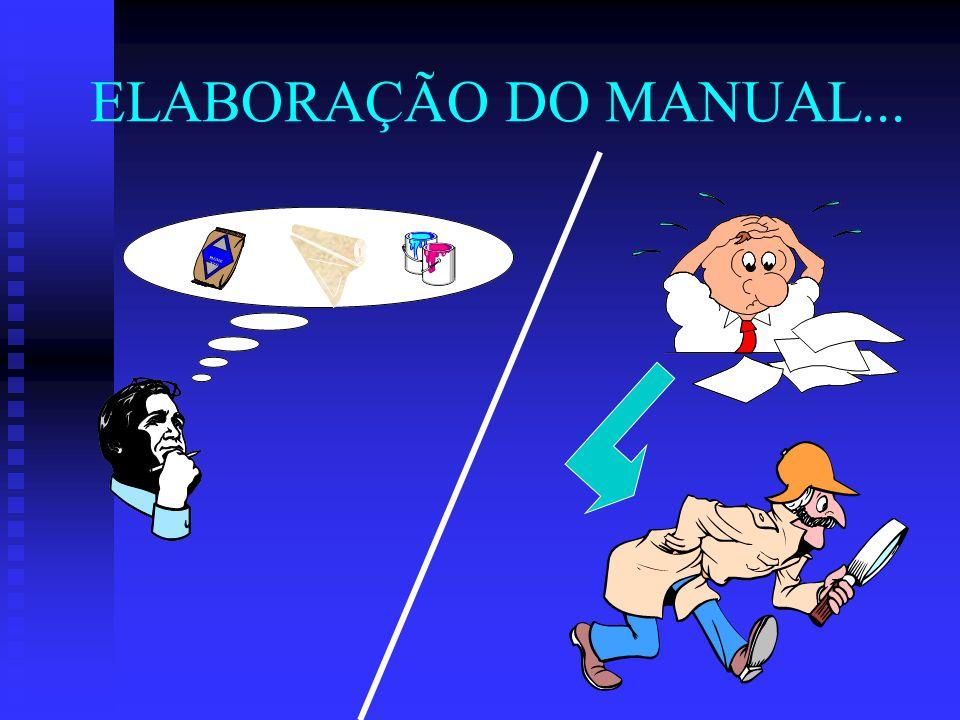 ELABORAÇÃO DO MANUAL... PIGMENTO