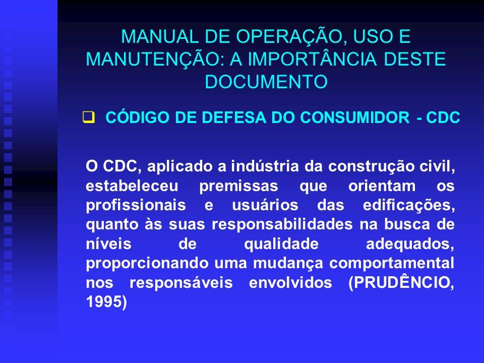 MANUAL DE OPERAÇÃO, USO E MANUTENÇÃO: A IMPORTÂNCIA DESTE DOCUMENTO