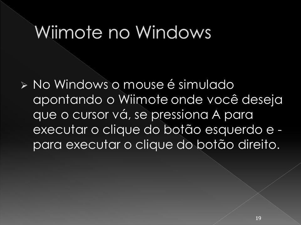 Wiimote no Windows