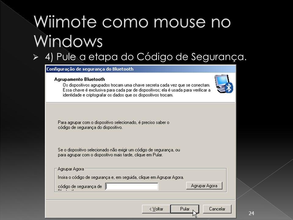 Wiimote como mouse no Windows