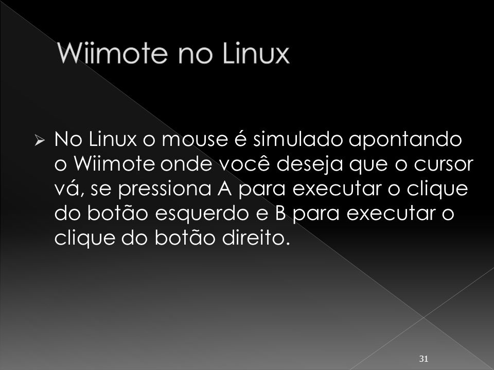 Wiimote no Linux