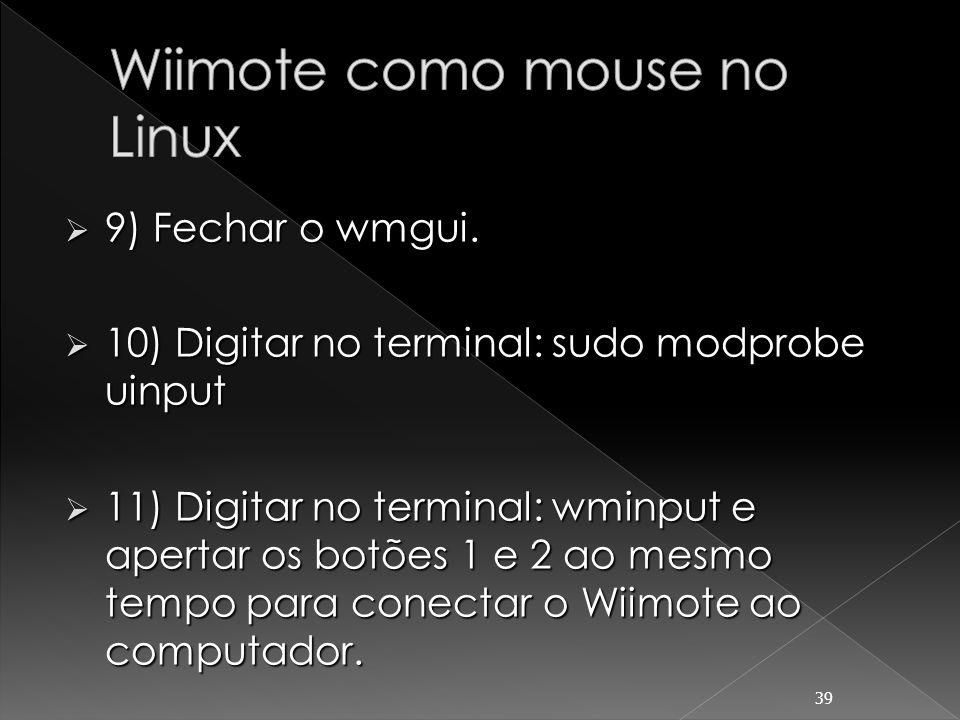 Wiimote como mouse no Linux