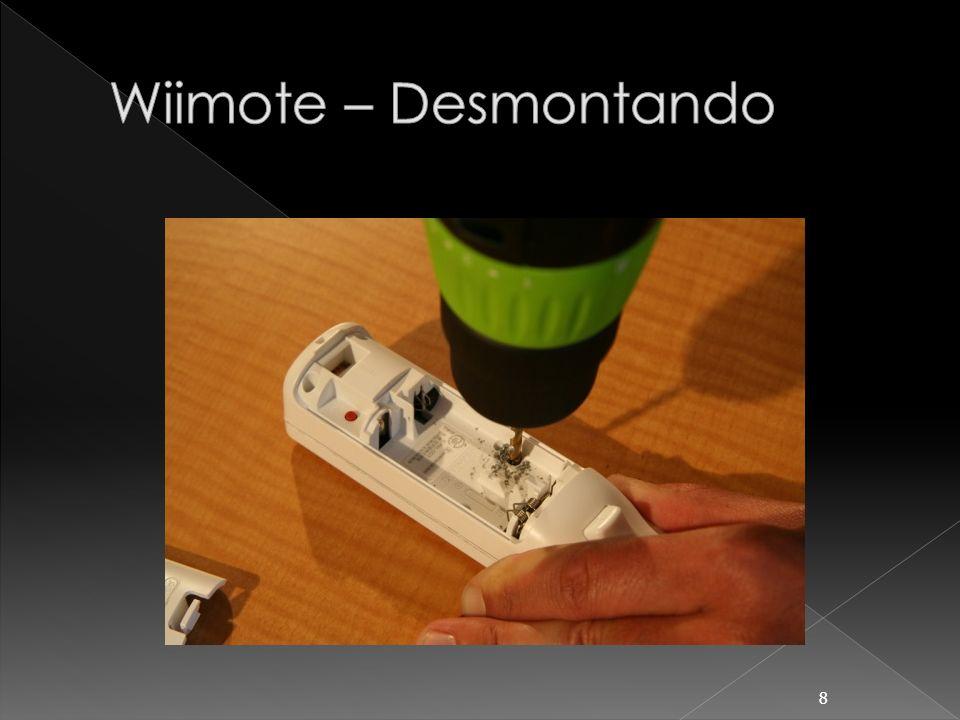 Wiimote – Desmontando