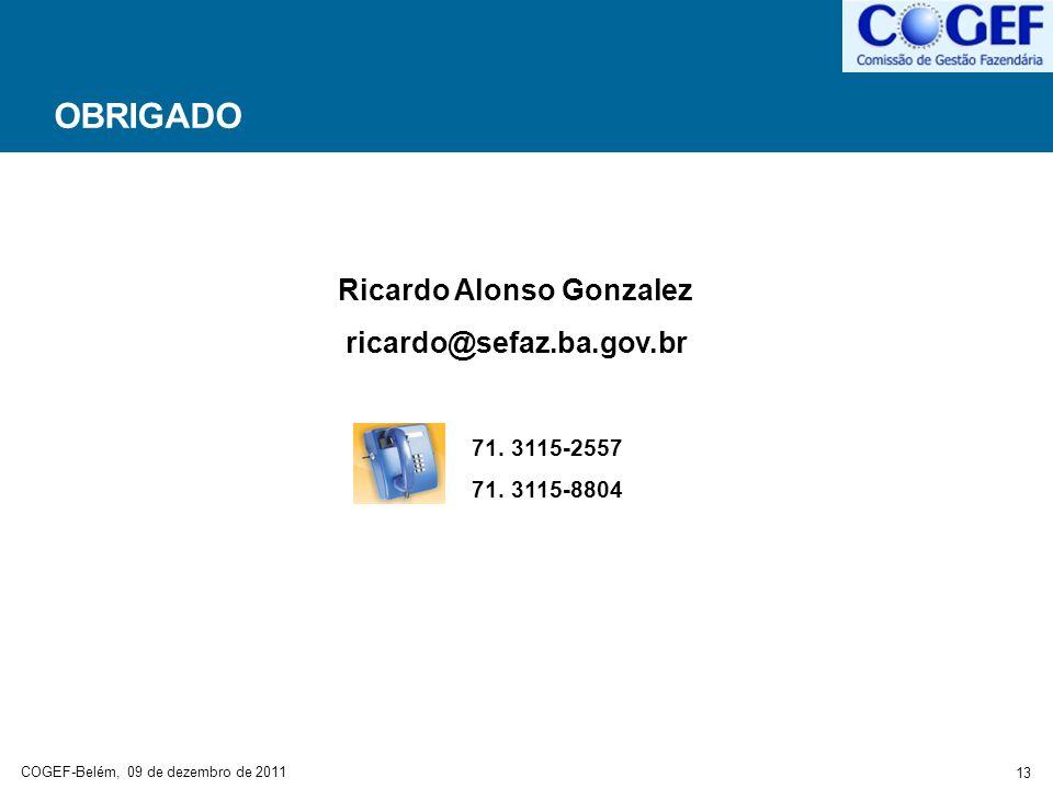 Ricardo Alonso Gonzalez
