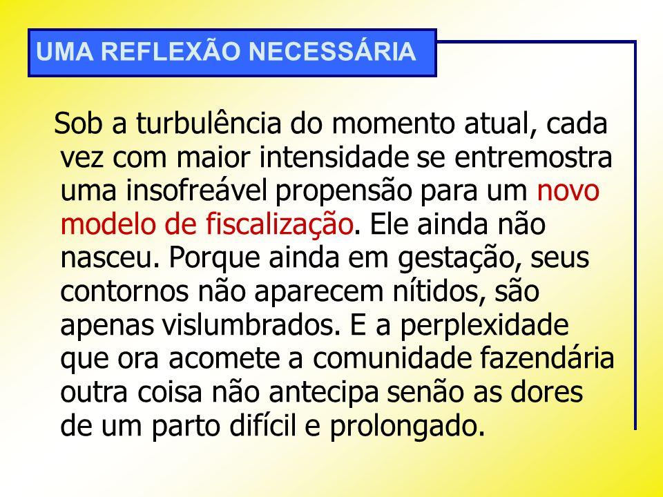 UMA REFLEXÃO NECESSÁRIA