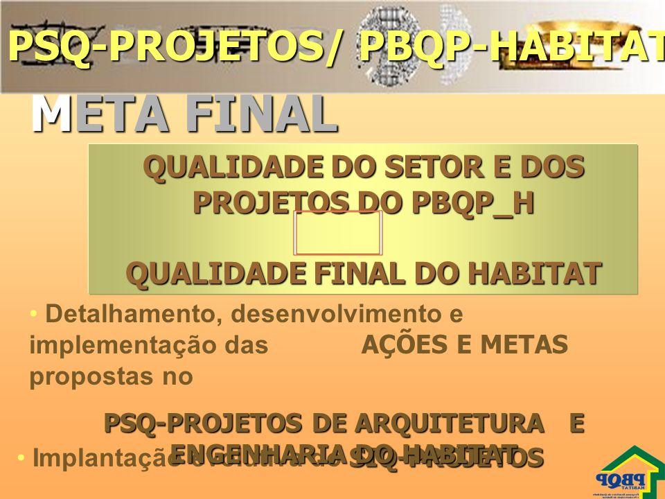 META FINAL PSQ-PROJETOS/ PBQP-HABITAT 