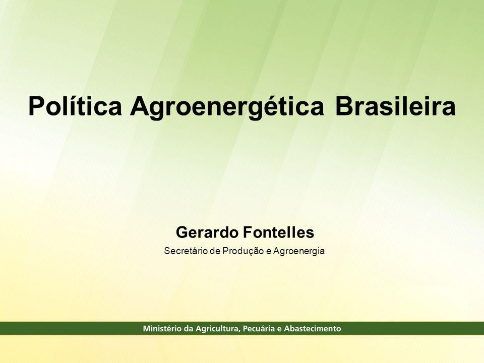 Política Agroenergética Brasileira