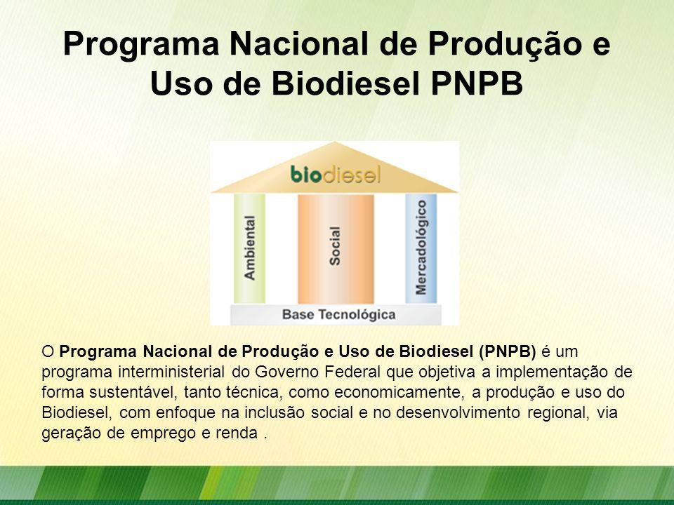 Programa Nacional de Produção e Uso de Biodiesel PNPB