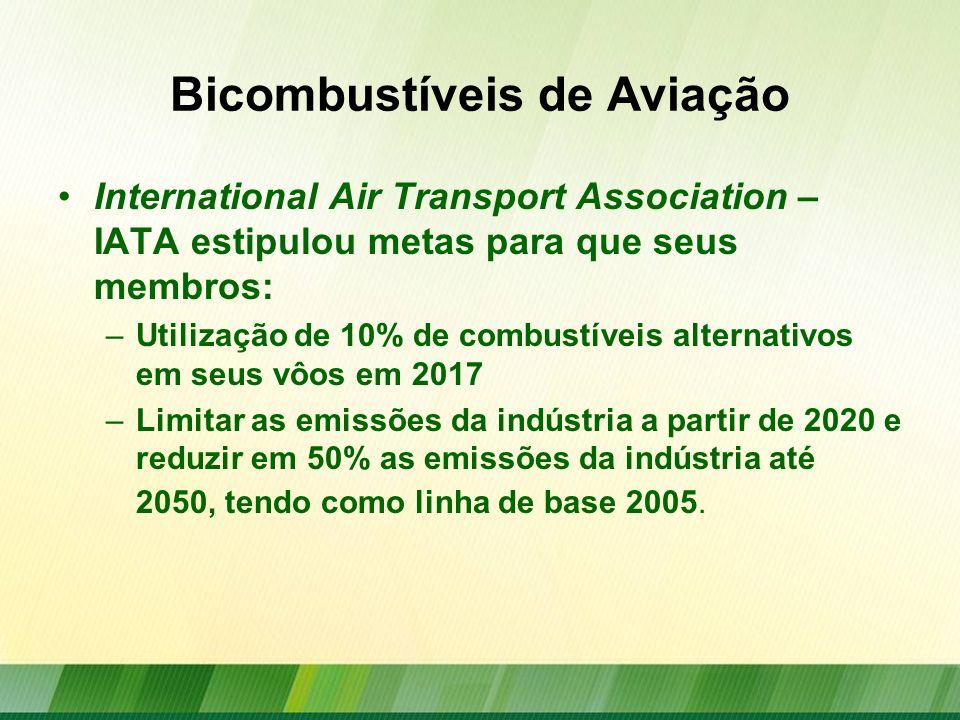Bicombustíveis de Aviação