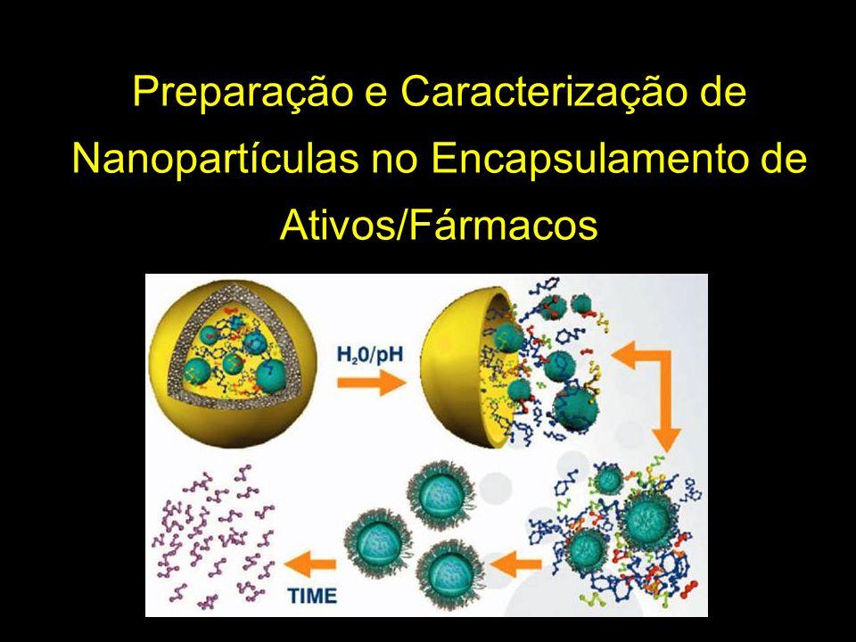 Preparação e Caracterização de Nanopartículas no Encapsulamento de Ativos/Fármacos