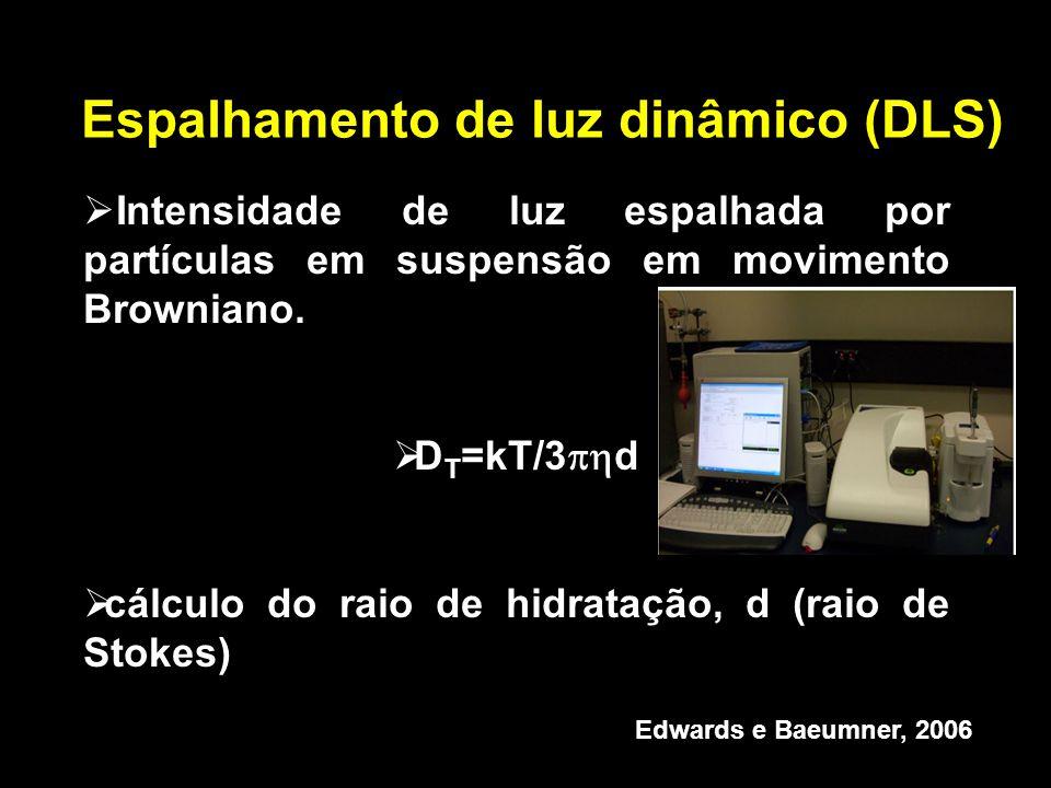 Espalhamento de luz dinâmico (DLS)