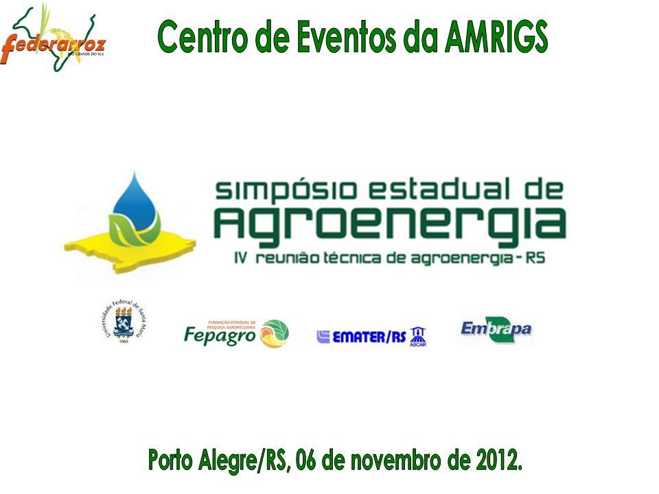 Centro de Eventos da AMRIGS Porto Alegre/RS, 06 de novembro de 2012.