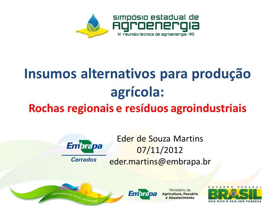 Eder de Souza Martins 07/11/2012 eder.martins@embrapa.br