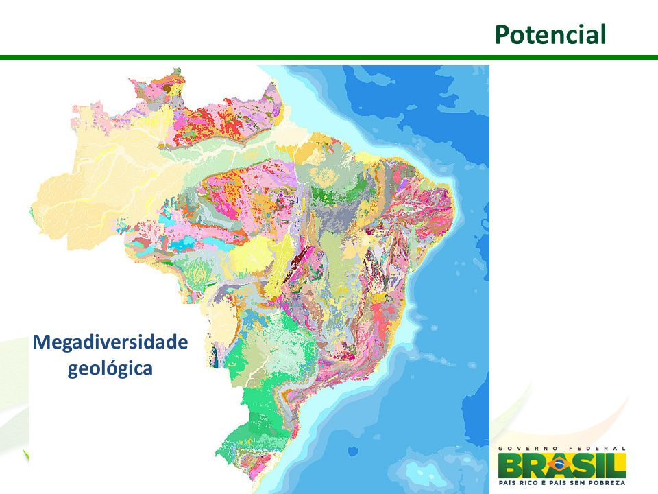 Potencial Megadiversidade geológica 23
