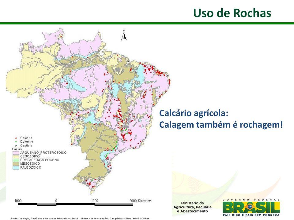 Uso de Rochas Calcário agrícola: Calagem também é rochagem! 24