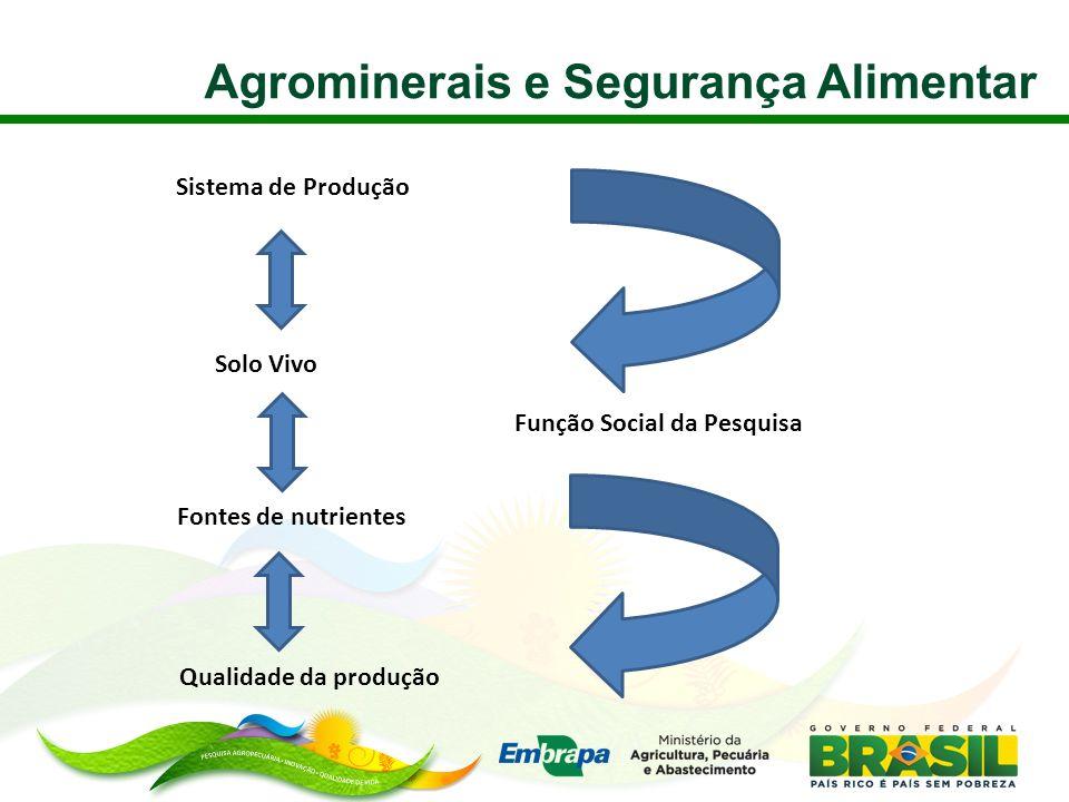 Agrominerais e Segurança Alimentar