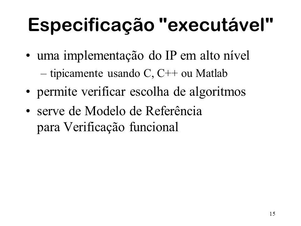 Especificação executável
