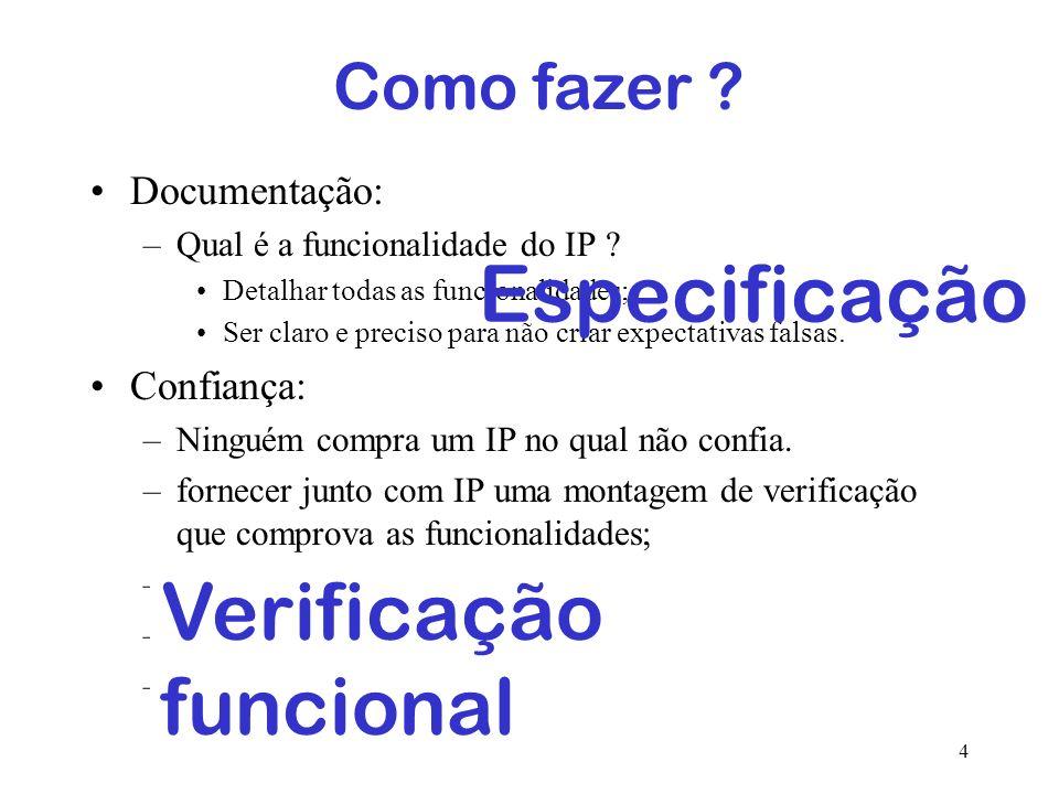 Verificação funcional