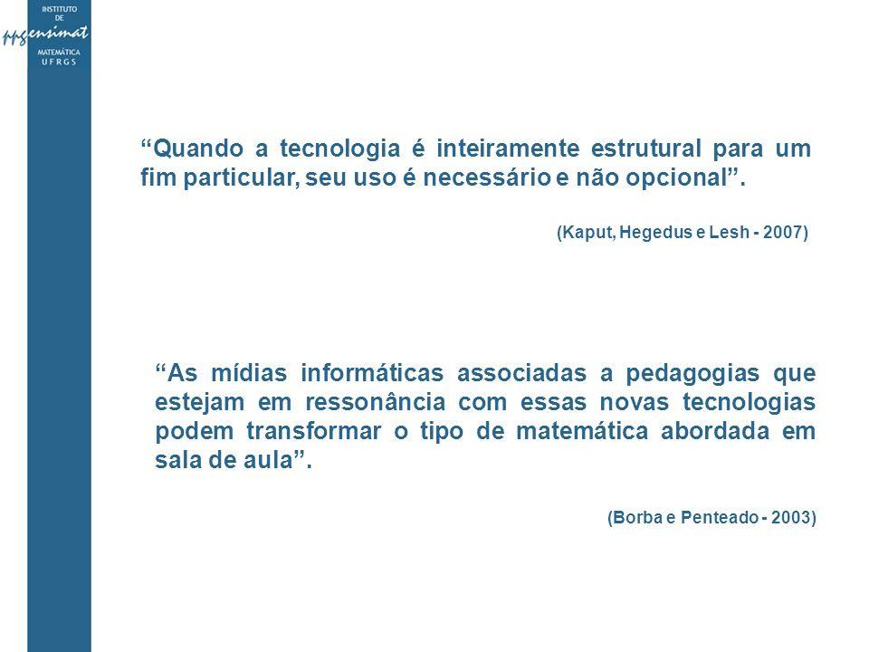 Quando a tecnologia é inteiramente estrutural para um fim particular, seu uso é necessário e não opcional .