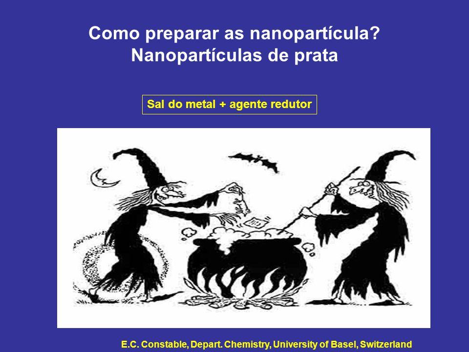 Como preparar as nanopartícula Nanopartículas de prata