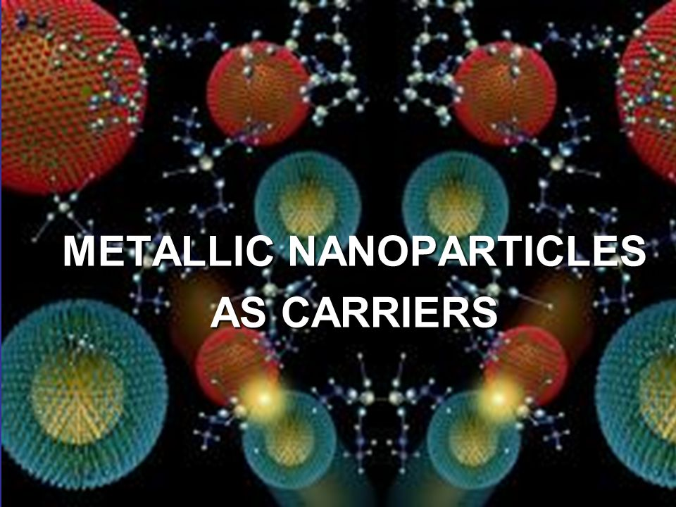 METALLIC NANOPARTICLES