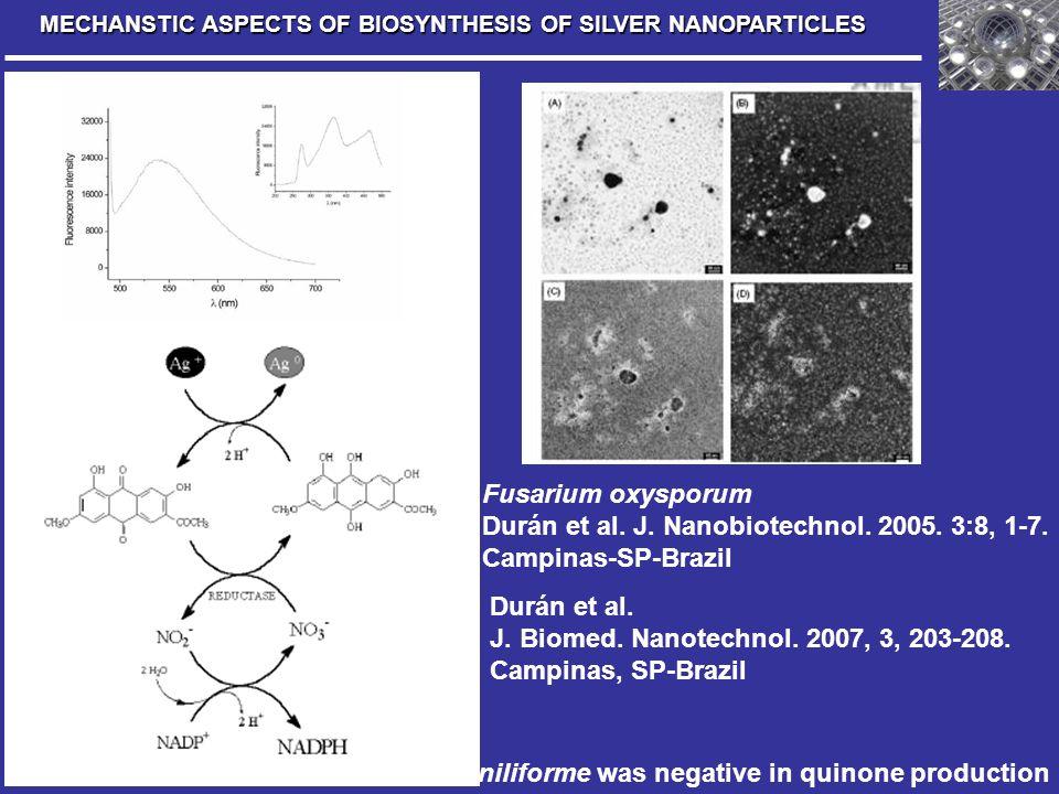 Durán et al. J. Nanobiotechnol. 2005. 3:8, 1-7. Campinas-SP-Brazil