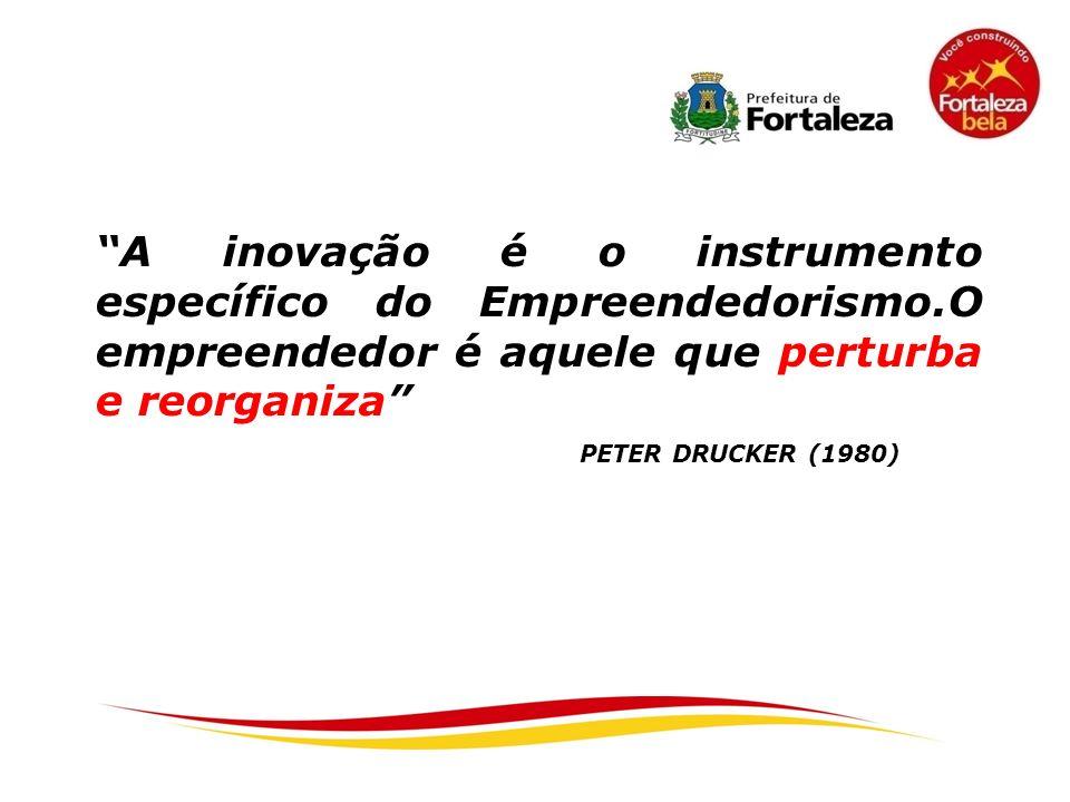 A inovação é o instrumento específico do Empreendedorismo