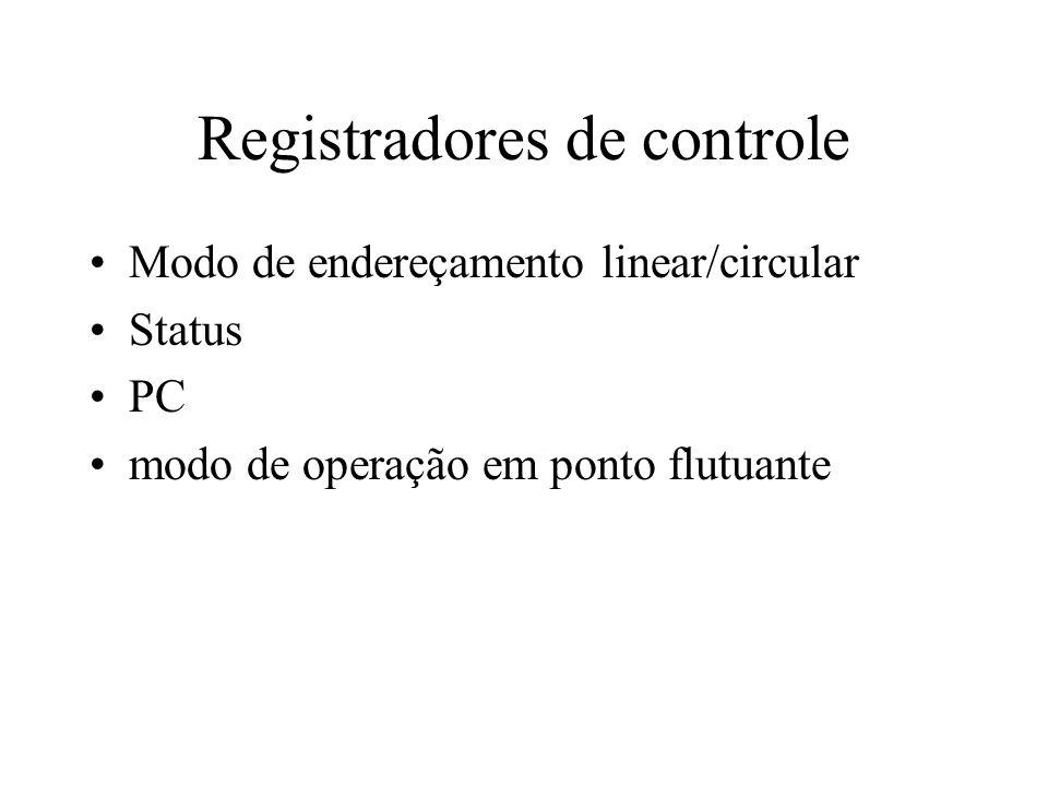Registradores de controle